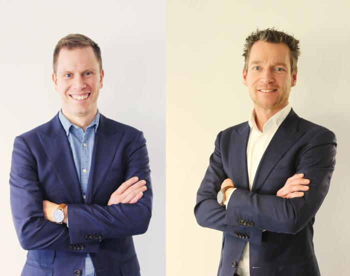 Sjoerd and Simon co-founders of Fit 4 Me